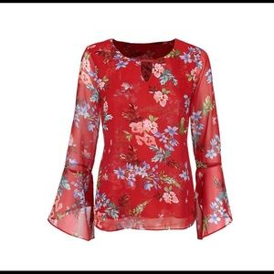 CAbi Devoted Blouse NWOT Small. $44
